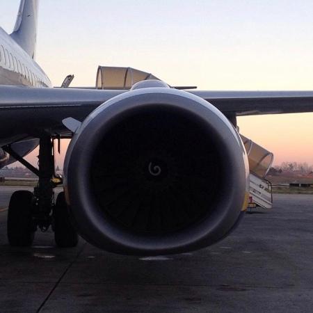 Turbina avión